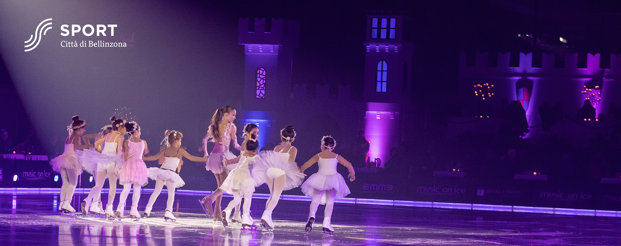 Kimmy Repond and the kids of Club Pattinaggio Bellinzona - Music on Ice