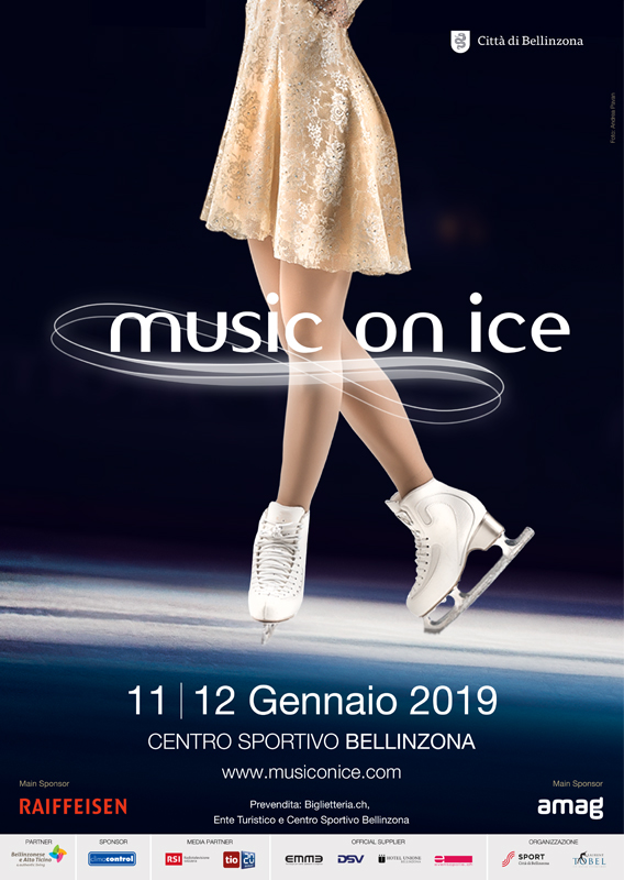 Music on Ice 2019 Spettacolo con Delitto