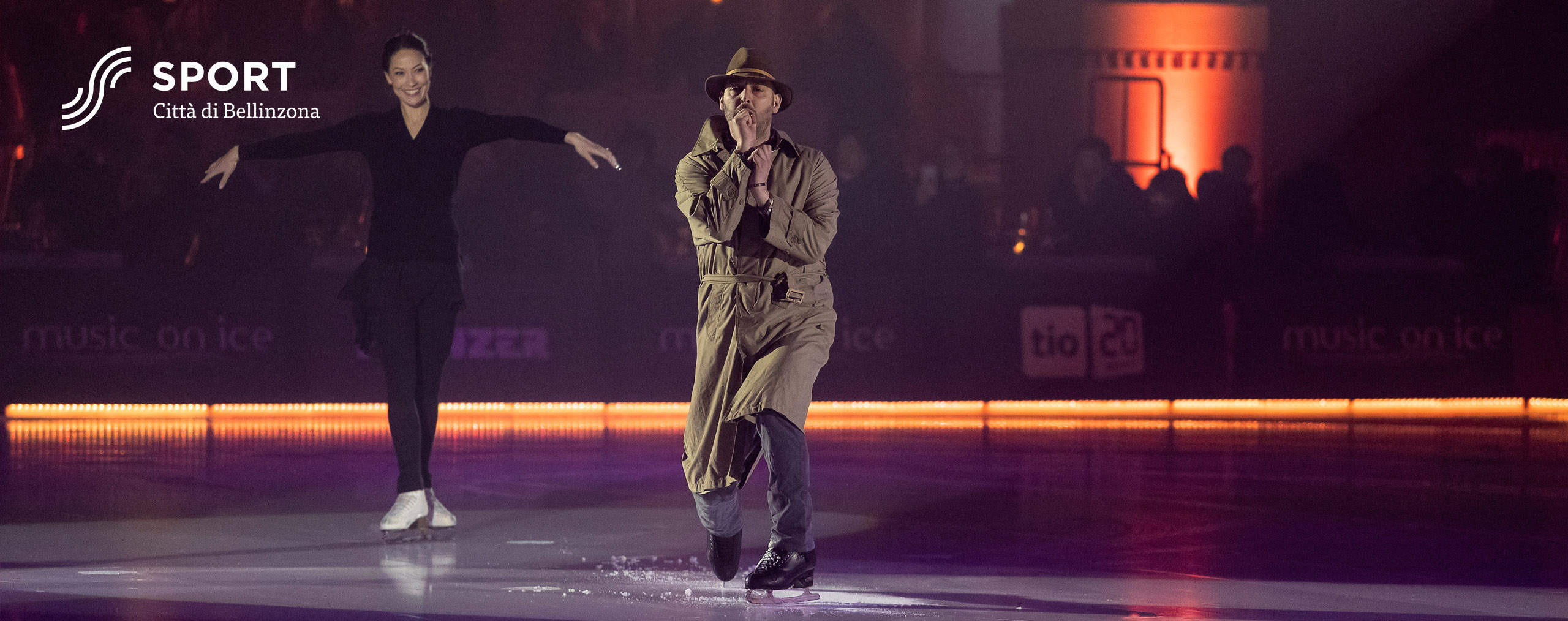 Laurent Tobel Eve Bentley Music on Ice