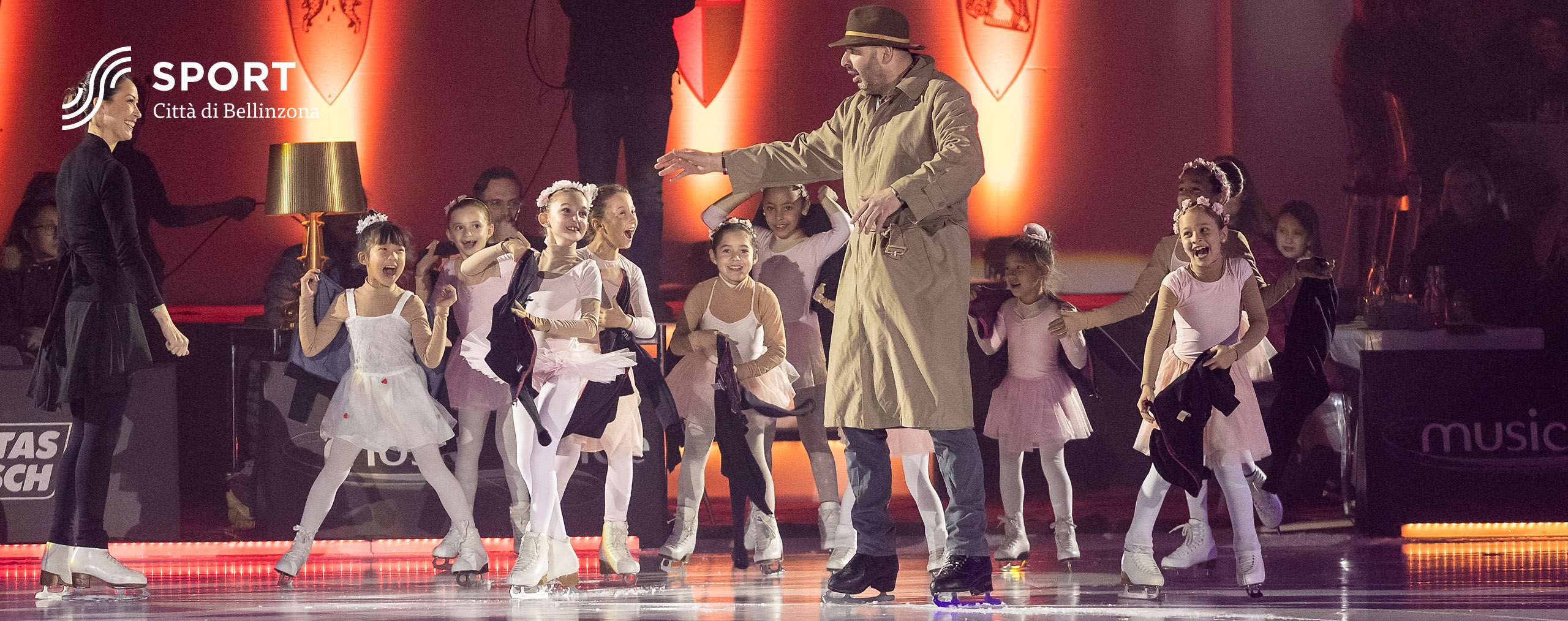 Laurent Tobel kids Bellinzona CPB Music on Ice