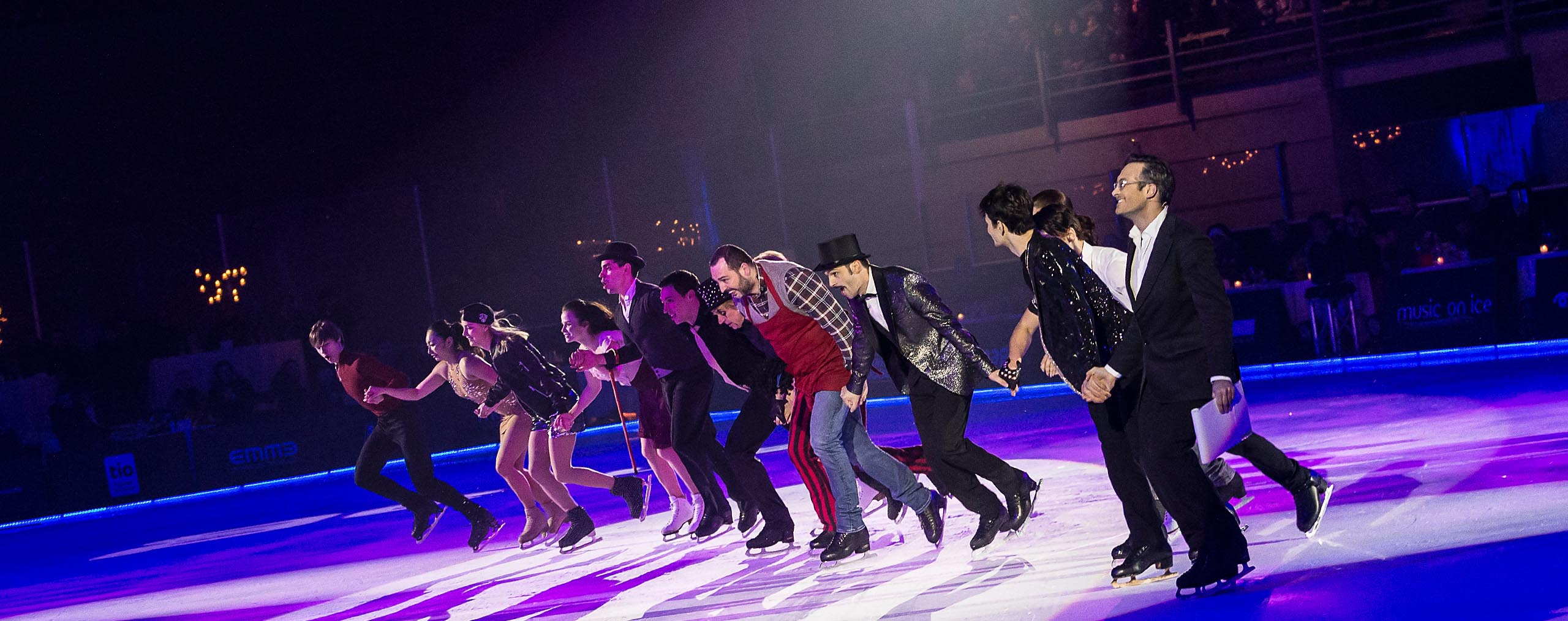 Cast of Music on Ice