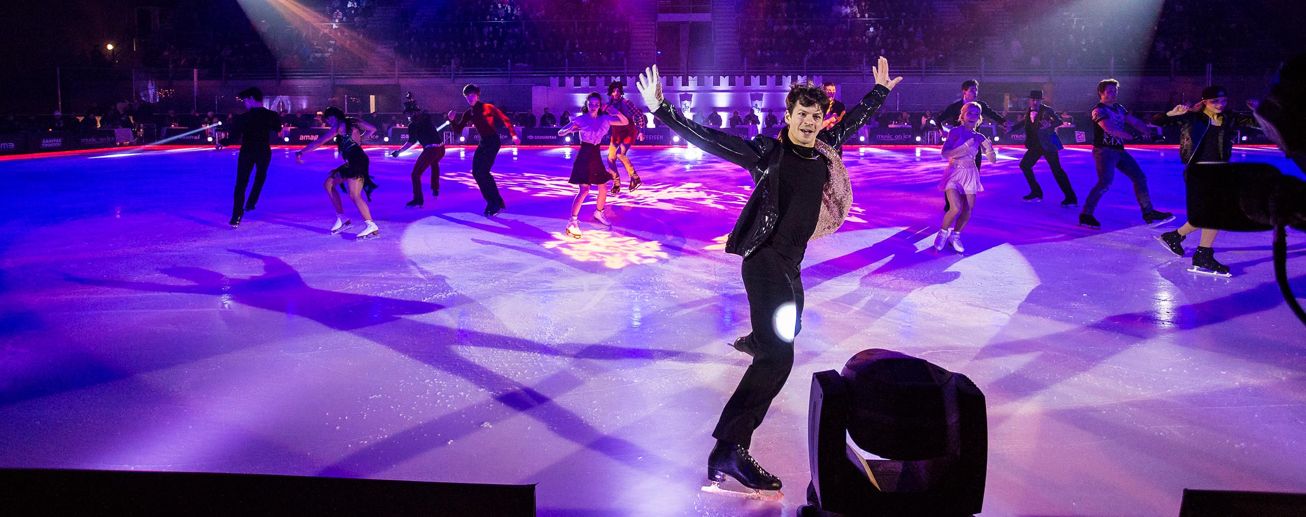 Cast of Music on Ice Stephane Lambiel