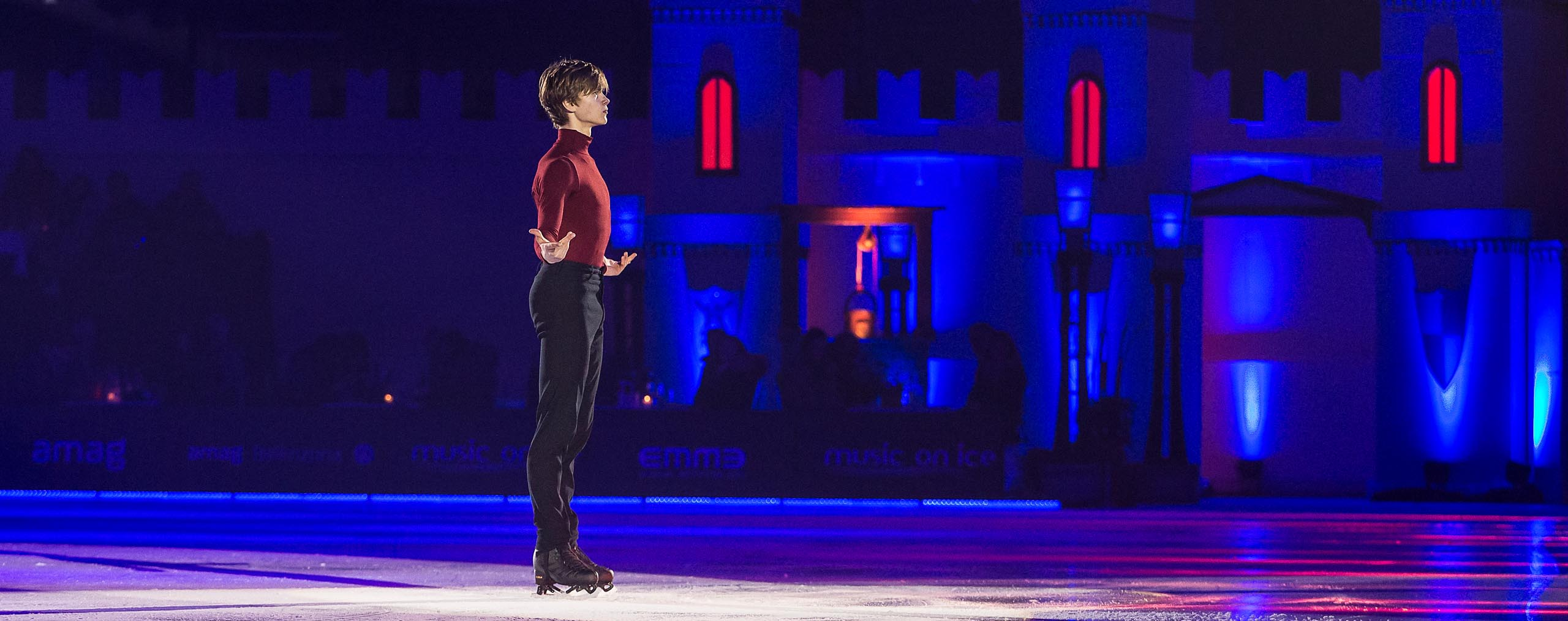 Deniss Vasiljevs Music on Ice