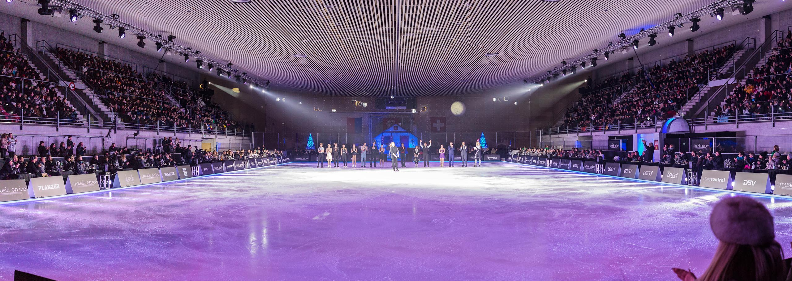 Icerink Parterre VIP Music on Ice