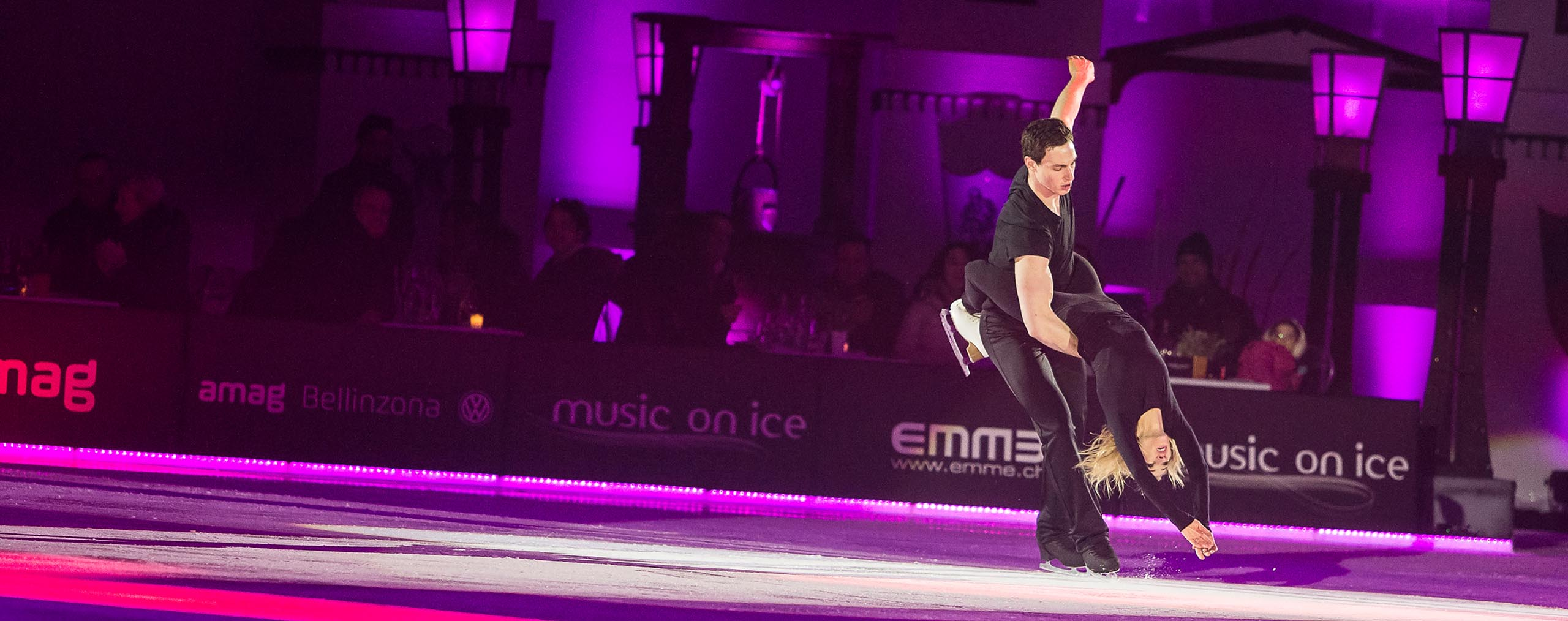 Aljona Savchenk & Bruno Massot Music on Ice